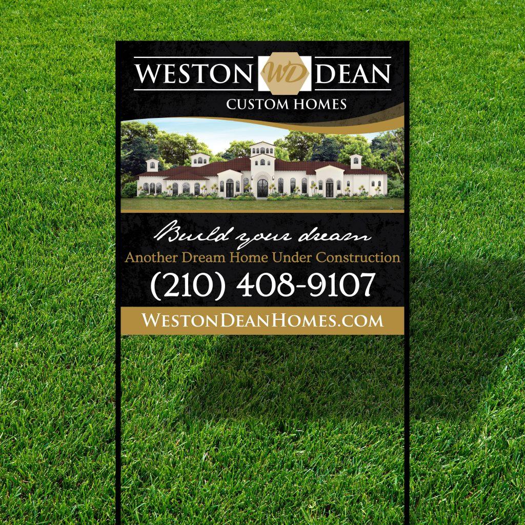 Weston Dean Sign Design