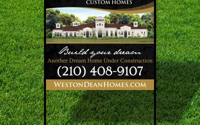 Weston Dean Sign Design
