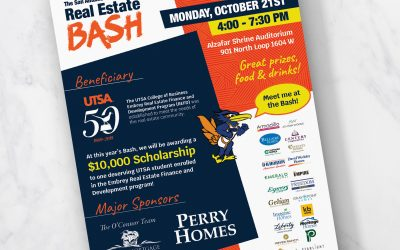 2019 Real Estate Bash Flyer Design