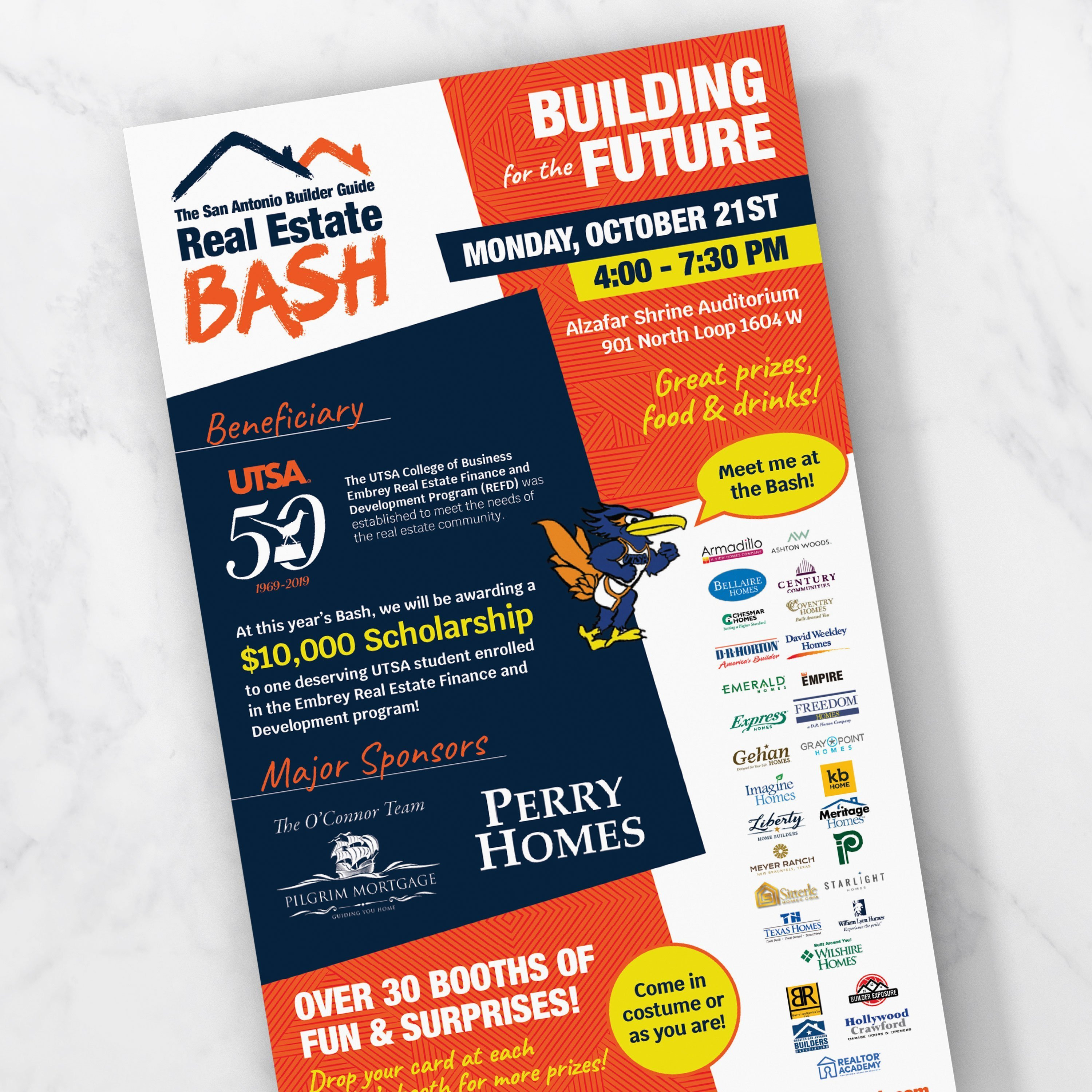 Real Estate Bash Flyer