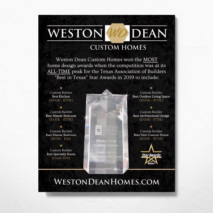 Weston Dean Poster
