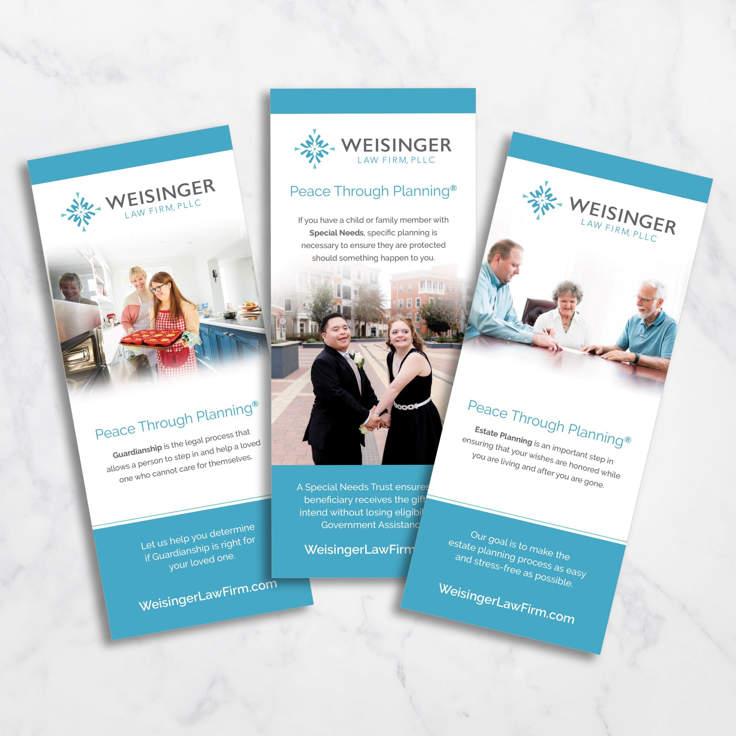 Weisinger Law Rack Cards