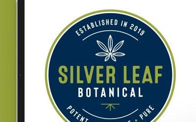 Silver Leaf Botanical Logo