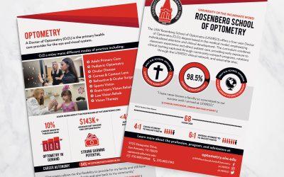 UIW Rosenberg School of Optometry Postcards