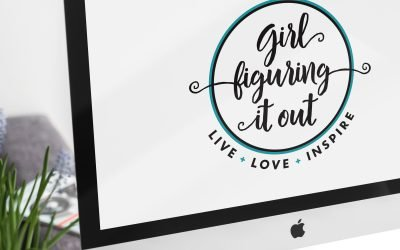 Girl Figuring It Out Logo Design