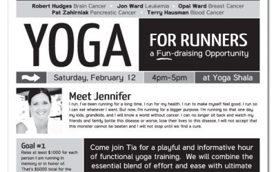 Yoga for a great cause!